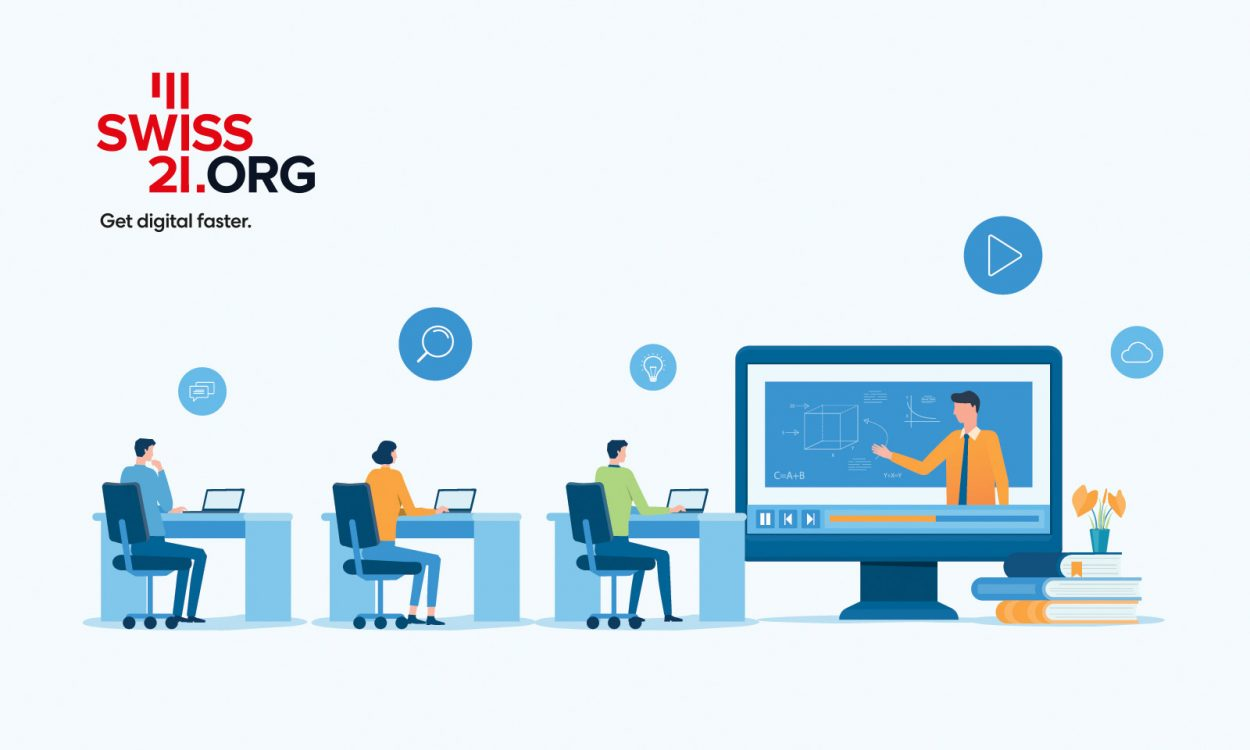 Swiss21.org's education initiative
